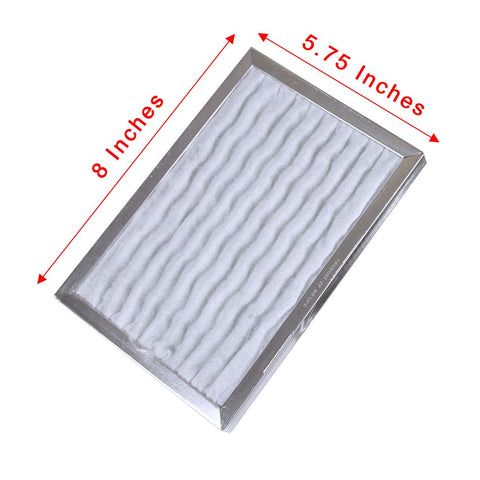 "Valentino Filters for FLUSH Mount - Rectangular 6""x8"""