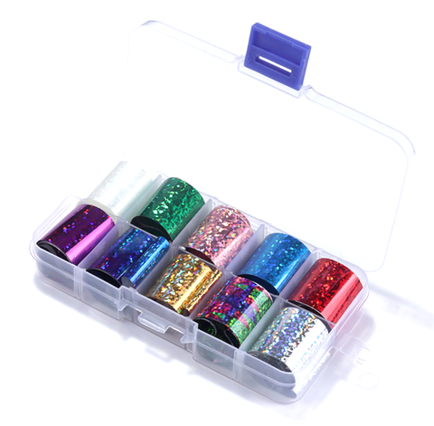 Sparkle Foil Set of 10 in Case