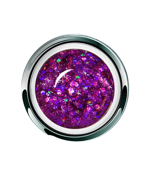 Fuchsia Dazzle Glitter - Gel Play UV/LED