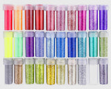 Glitter Rainbow Set of 30 Vials