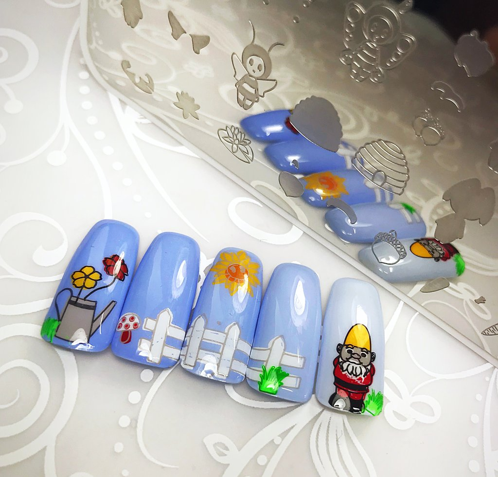 Gnome Place Like Home (CjSLC-17) - Clear Jelly Stamping Plate