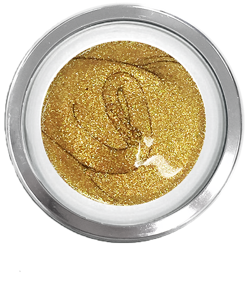 Glitter Golden Nugget Metallic - Akzentz Gel Play UV/LED