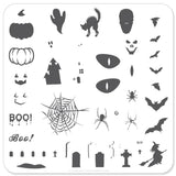 Halloween - Boo (CjSH-06) - Clear Jelly Stamping Plate