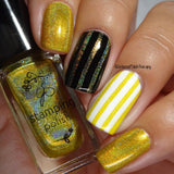 Holo Gold Stamping Polish #H02