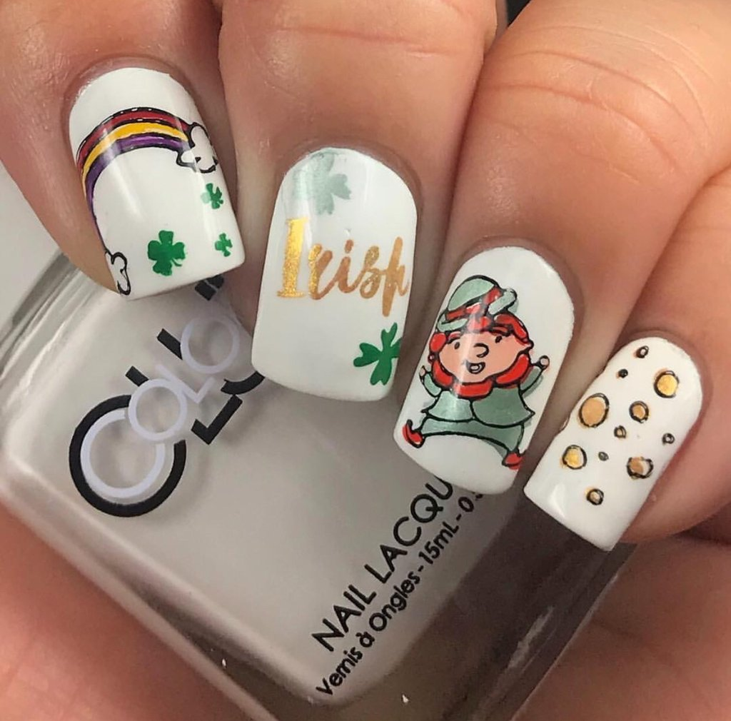 The Luck of the Irish (CjSH-14)  - Clear Jelly Stamping Plate