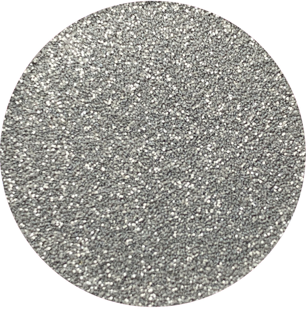 Matte Grey Patent Leather Glitter