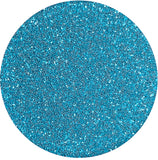 Matte Lite Blue Patent Leather Glitter