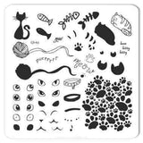 Meow (CjS-60) - CJS Small Stamping Plate