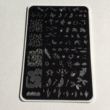 On the Pond (CjS-36) - Clear Jelly Stamping Plate