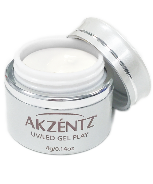 Paint White - Akzentz Gel Play UV/LED