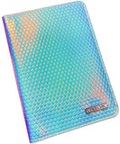 Holo Iridescent Passport Holder - Uber Chic