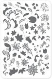 Petals of Lace (CjS-50) - Clear Jelly Stamping Plate