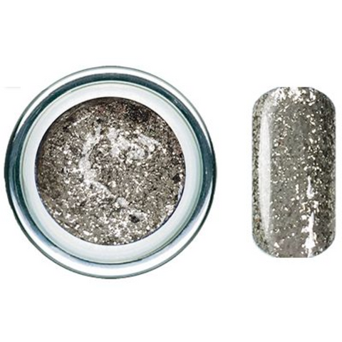 Pewter Quartz Glitz Glitter Gel - Akzentz Gel Play UV/LED