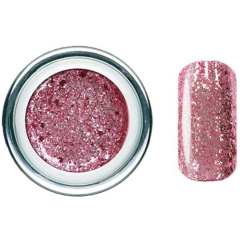Pink Diamond Glitz Glitter Gel - Akzentz Gel Play UV/LED