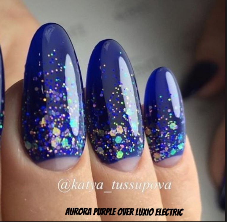 Aurora Purple Glitter Gel  - Options UV/LED