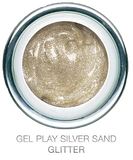 Glitter Silver Sand - Akzentz Gel Play UV/LED