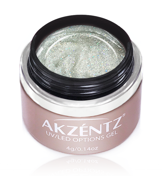 Sparkles Silver Twinkle - Akzentz Options UV/LED