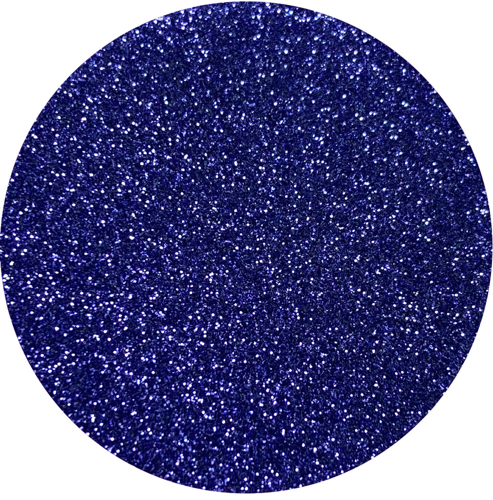 Soft Dark Purple Glitter
