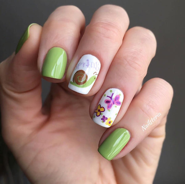 Spring Has Sprung - Clear Jelly Stamping Plate