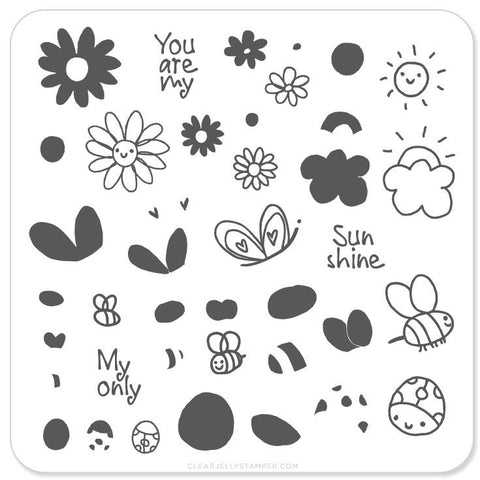 SunShine - CJS Small Stamping Plate