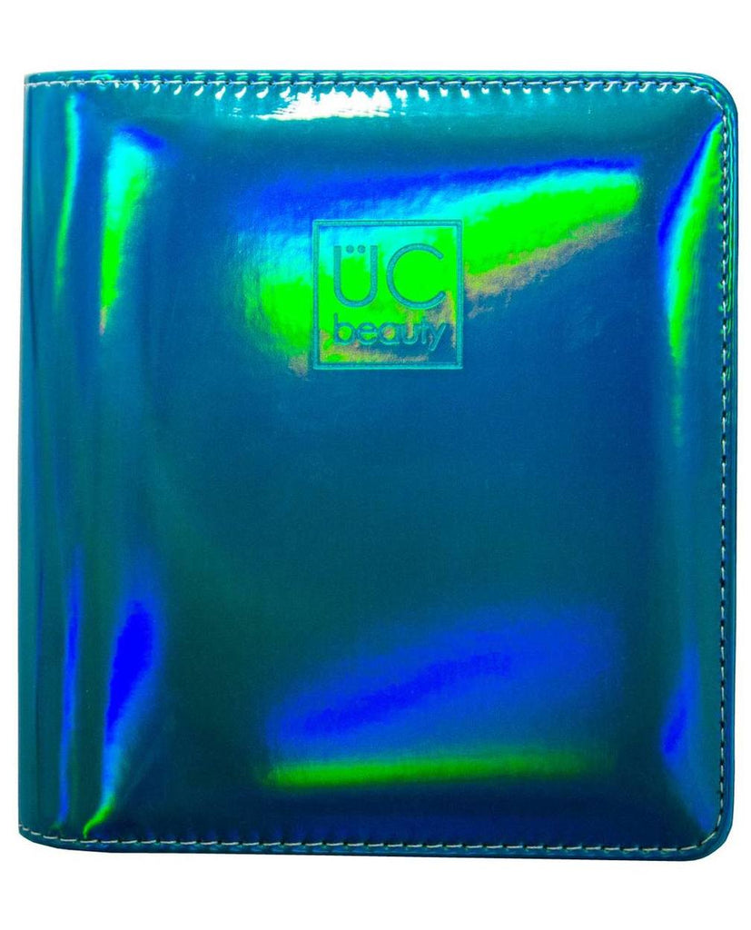 Holographic Nail Stamp Storage Binder - Teal