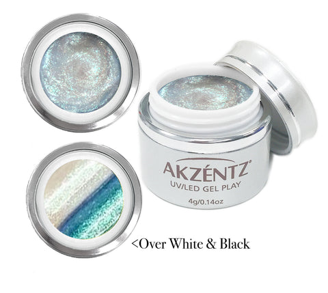 Tidal Teal Mermaid Shimmer  - Akzentz Gel Play UV/LED
