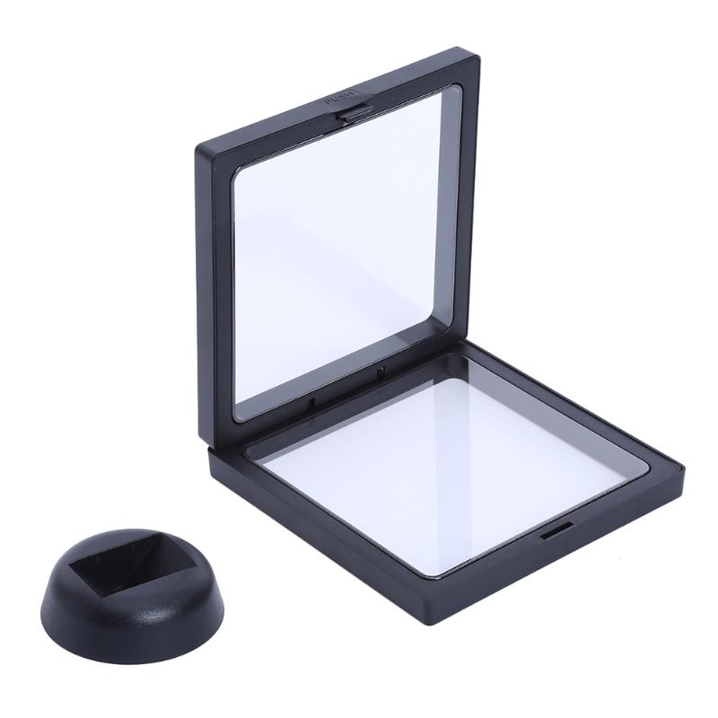 Clear Nail Art Box Frame with Stand