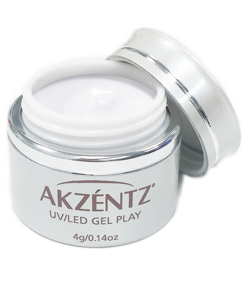 Paint Titanium White - Akzentz Gel Play UV/LED