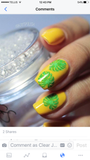 Tropical - Clear Jelly Stamping Plate