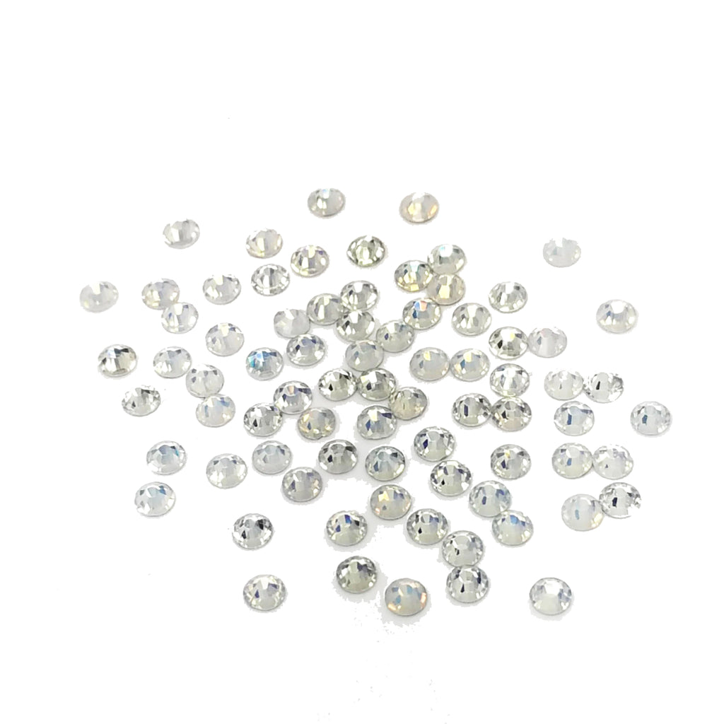 Genuine Crystal Rhinestones - White Opal SS6 144ct