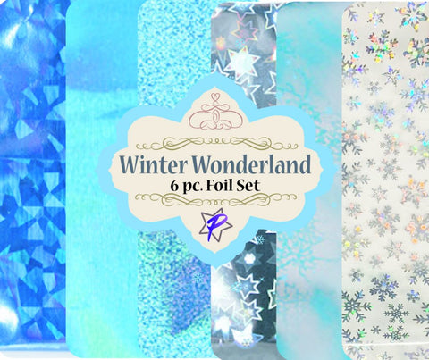 Winter Wonderland Foil Set of 6