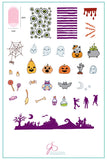 Halloween - Witches Brew (CjSH-21) - Clear Jelly Stamping Plate