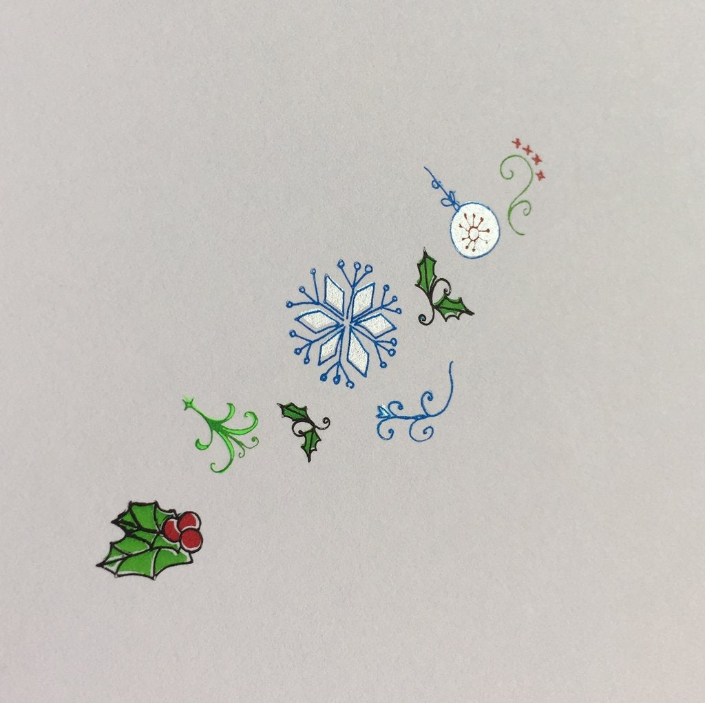 Wonderfully Winter (CjSC-05) - CJS Small Stamping Plate