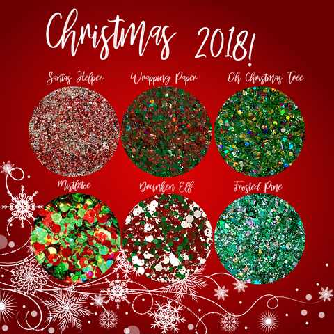 Christmas Glitter Collection 2018