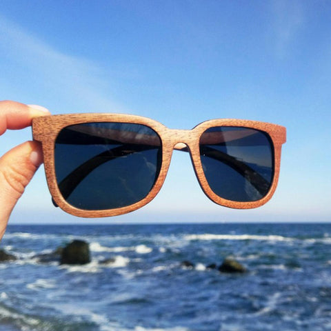 Classic Wooden (Walnut) Polarized Sunglasses