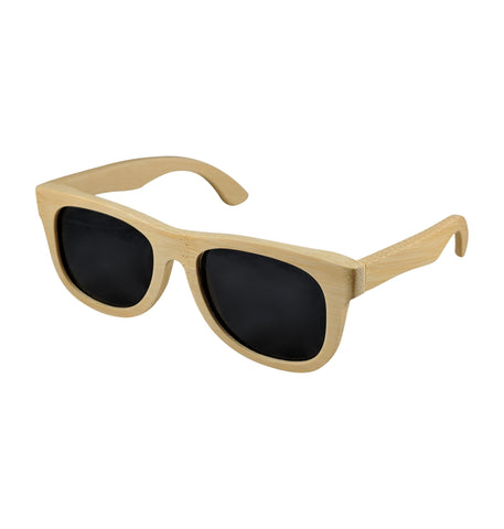 handcrafted bamboo sunglasses black lens