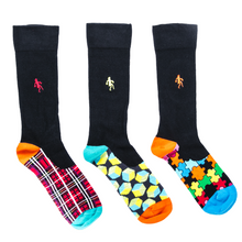 Fun Hidden Pattern Socks for Men Gift Pack