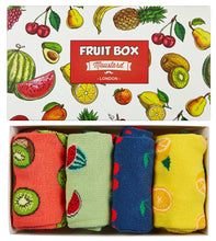 Fruit Socks Gift Box 4-Pack