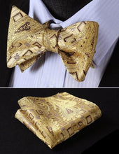 Bow Tie & Pocket Square Combo