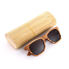 Classic Wooden (Zebrawood) Polarized Sunglasses
