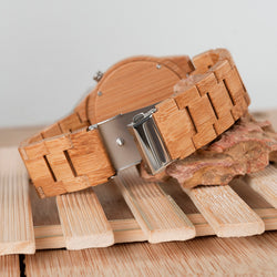 Men's Bamboo Quartz Watch