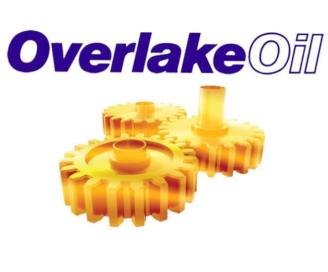 Overlake Oil Hard Hat Sticker