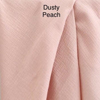 Dusty Peach Muslin - Mikayla Ann Boutique