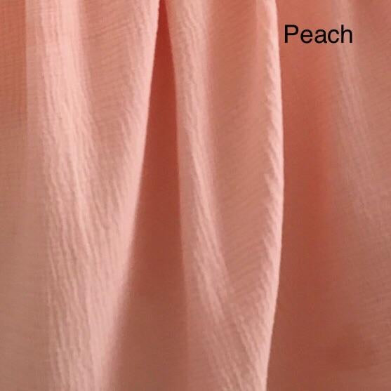 Peach Muslin - Mikayla Ann Boutique