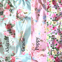 Seaside Dress Set Summer- Florals