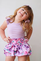 Charlie Purple - (Nappy Cover, Shorts, Harem Pants) - Mikayla Ann Boutique
