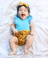 Kelsey Mustard - (Nappy Cover, Shorts, Harem Pants) - Mikayla Ann Boutique