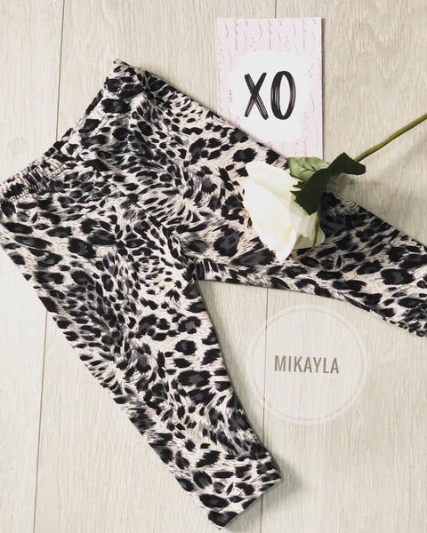 Classic Leopard Print Leggings (In-Stock)