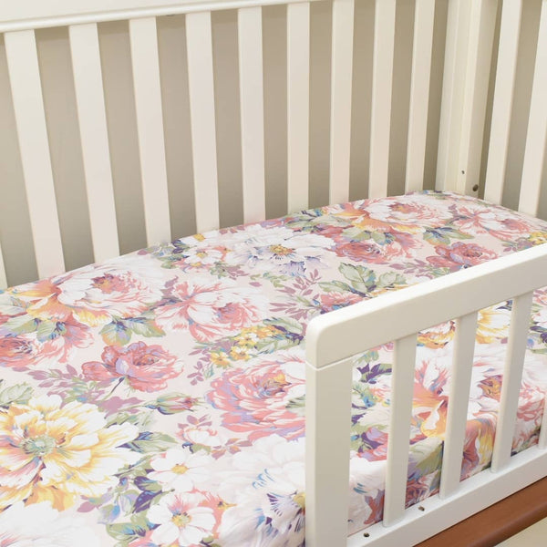 Candy Fitted Cot Sheet - Mikayla Ann Boutique
