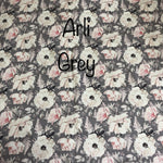 Arli Grey - (Nappy Cover, Shorts, Harem Pants) - Mikayla Ann Boutique